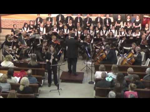 Adagio from the Mozart Clarinet Concerto performed with the Brockport Symphony Orchestra