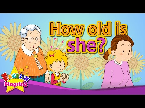 [Age] How old is she? - Exciting song - Sing along
