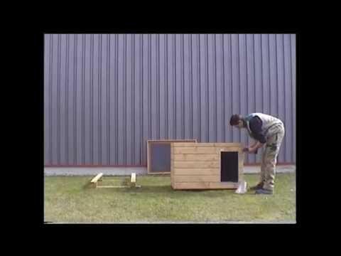 SAUERLAND Hundehütten-Bausatz: Hundehütte bauen in wenigen Schritten