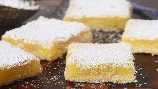 Lemon Bars Recipe Demonstration - Joyofbaking.com