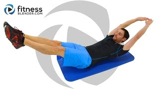 Quick 10 Minute Core Workout - Pain in My Abs! by FitnessBlender