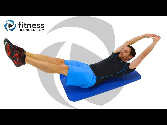 Quick 10 Minute Core Workout – Pain in My Abs!