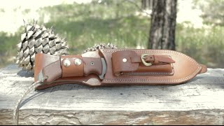 TOPS Tahoma Custom Leather Sheath Perfection