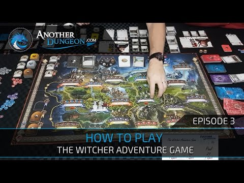 How to Play The Witcher Adventure Game - Episode 3 - Demo Game | Another Dungeon