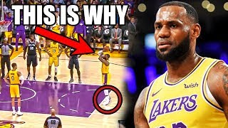 The REAL Reason Why LeBron James CAN'T Make Free Throws (Ft. Missed NBA Clutch Shots, Lakers Losses)