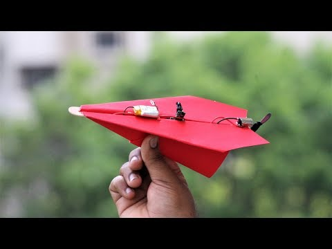 How to make a RC Paper Aeroplane