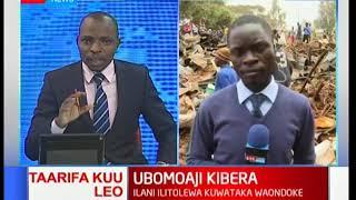 Matingatinga kuanza ubomoaji wa nyumba katika mtaa wa Kibera