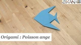 Origami - Poisson ange