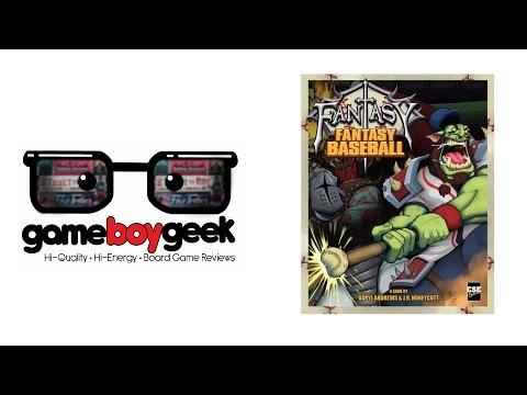 The Game Boy Geek Reviews Fantasy Fantasy Baseball