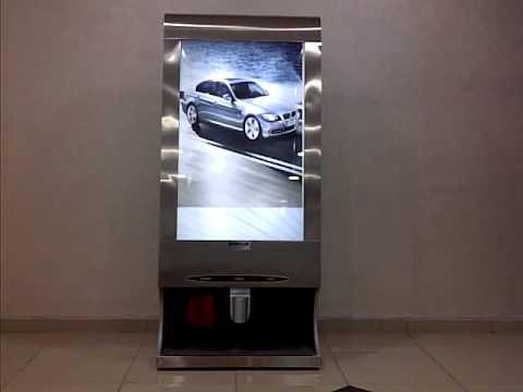 Bilboard Tipi Ayakkabı Cila Makinesi