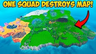 *ONE SQUAD* DESTROYED THE WHOLE MAP!! - Fortnite Funny Fails and WTF Moments! #708