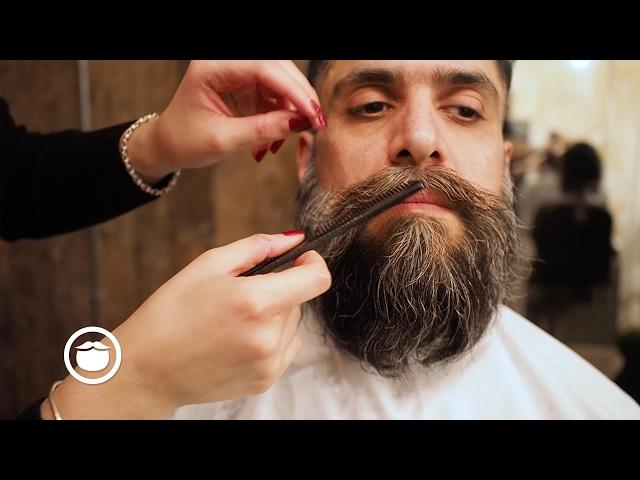 Hair Style With Beard