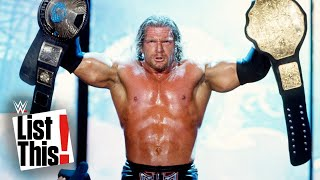 5 Superstars with the most championships: WWE List This!