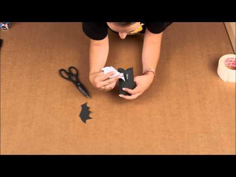 Tuto DIY Halloween : la boîte à bonbons chauve-souris