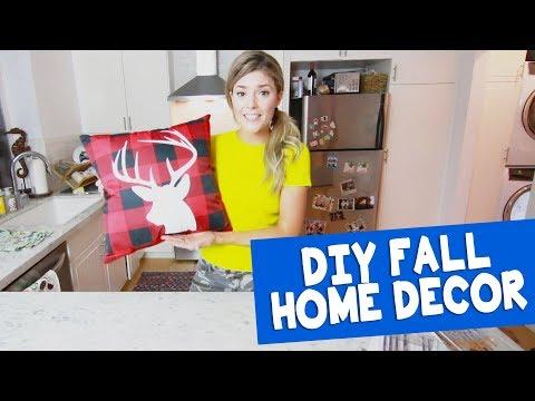 DIY FALL HOME DECOR // Grace Helbig