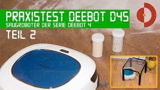 Test Ecovacs Deebot 4 bzw. D45 Teil2