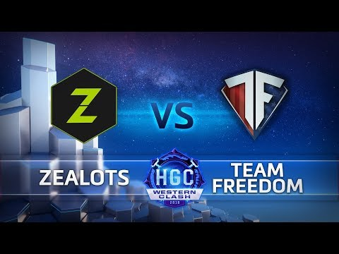 HGC Zealots vs. Team Freedom