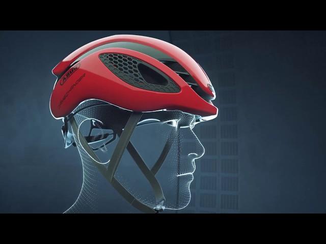 Видео Велосипедный шлем Abus GAMECHANGER Shrimp Orange