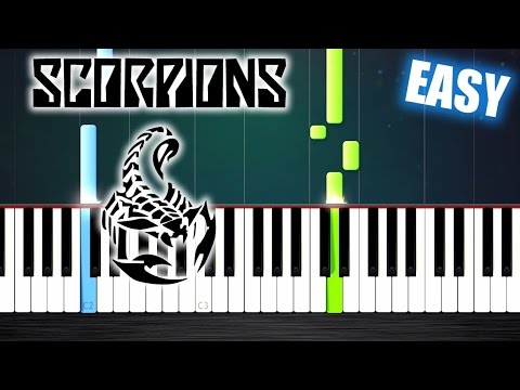 scorpions wind of change easy piano tutorial by plutax