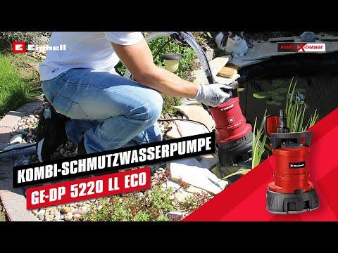 Einhell Schmutzwasserpumpe GE-DP 5220 LL ECO