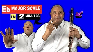 How To Play Eb Major Scale on Clarinet in 2 Minutes