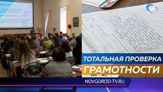 Более двухсот новгородцев вместе со всей страной написали «Тотальный диктант»