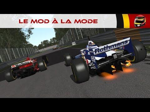 Rfactor F1 1996 Mod Showing All Teams - игровое видео смотреть