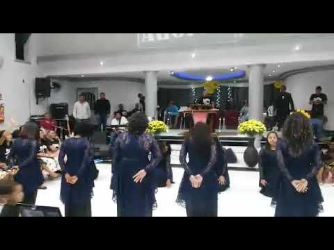 Coreografia ministério kadosh em Barrolândia-Bahia
