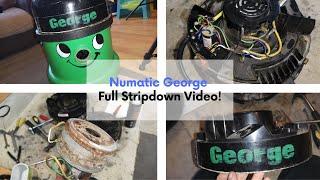 1992 Numatic George GVE370 - Stripdown and Refurbishment PART ONE!