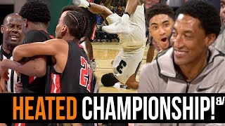 Sierra Canyon VS Etiwanda REGIONAL FINALS Gets HEATED & PHYSICAL! Scottie Pippen Jr SHINES!