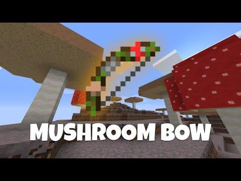 Minecraft DataPack | Mushroom Bow Command World MINECRAFT DATAPACK