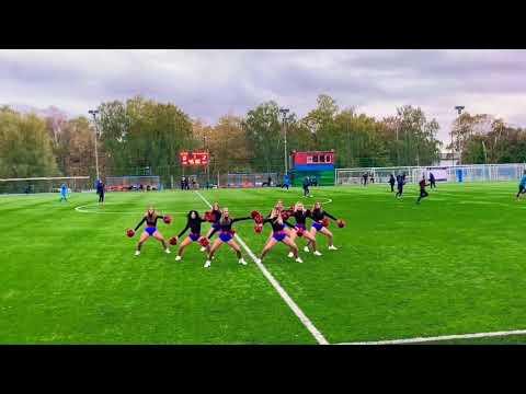 Группа поддержки ЦСКА Lucky Demons Черлидеры Футбол Юношеская футбольная лига