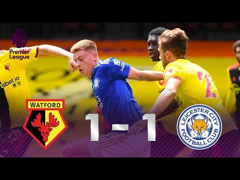SÓ VALIA GOLAÇO? Melhores momentos de Watford 1 x 1 Leicester pela Premier League