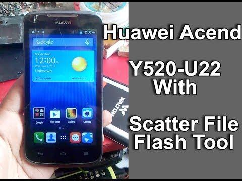 How to flash Huawei Y520 u22 with Sp flash tool? - смотреть онлайн