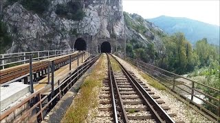 preview picture of video 'Driver's Eye View at 4 x Speed – Sofia to Mezdra via the Iskar Gorge.'