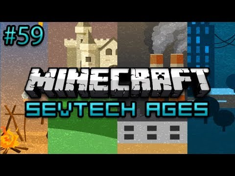 Minecraft: SevTech Ages Survival Ep. 59 - Mars Mission