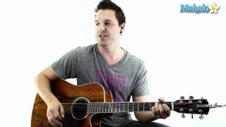 """How To Play """"Killing Me Softly"""" On Guitar"""