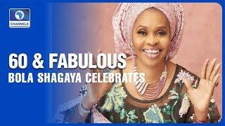 Bola Shagaya Celebrates With Family, Friends