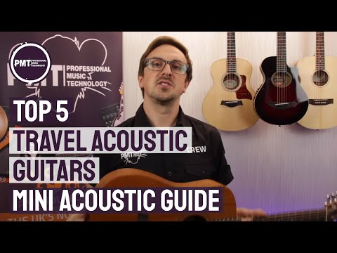 Top 5 Travel Acoustic Guitars –  A Mini Acoustic Guitar Guide