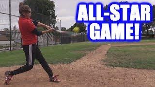 CIARA HITS FIVE HOME RUNS IN THE ALL-STAR GAME! | On-Season Softball Series
