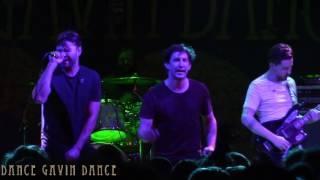 Dance Gavin Dance - Alex English (Live @Baltimore Sound Stage)