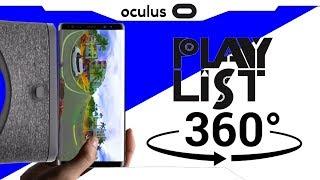 VR DICA► MELHOR PLAYLIST VIDEOS 360 3D - Gear VR/Go/Daydream/Google cardboard/Psvr/Rift/Vive