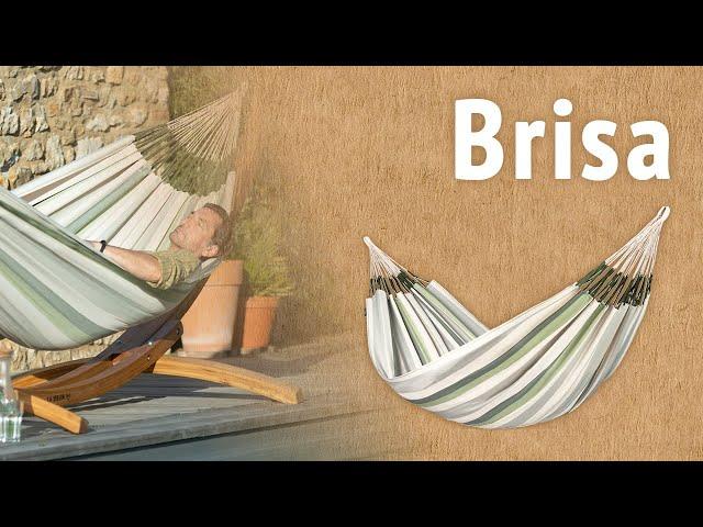 Видео Гамак La Siesta Brisa almond