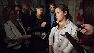 Chrystia Freeland says Canada has a 'talent for compromise'