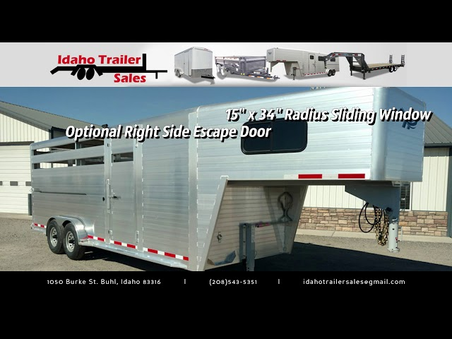 Hillsboro Endura Livestock Trailer by Idaho Trailer Sales