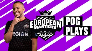 European Masters : les « Pog Plays » de la semaine - Summer Split