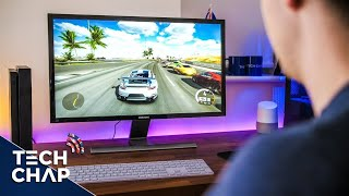 Xbox One X on a 4K Monitor - How Well Does it Work? | The Tech Chap