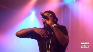 Tarrus Riley Live - Karma / Africa Await @ Melkweg, Amsterdam (Juni 19,2013)