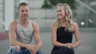 Dance Lesson With Derek and Julianne Hough