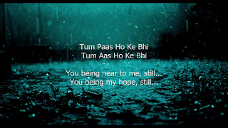 Tu Jaane Na - Lyrics (With English Translation) - YouTube